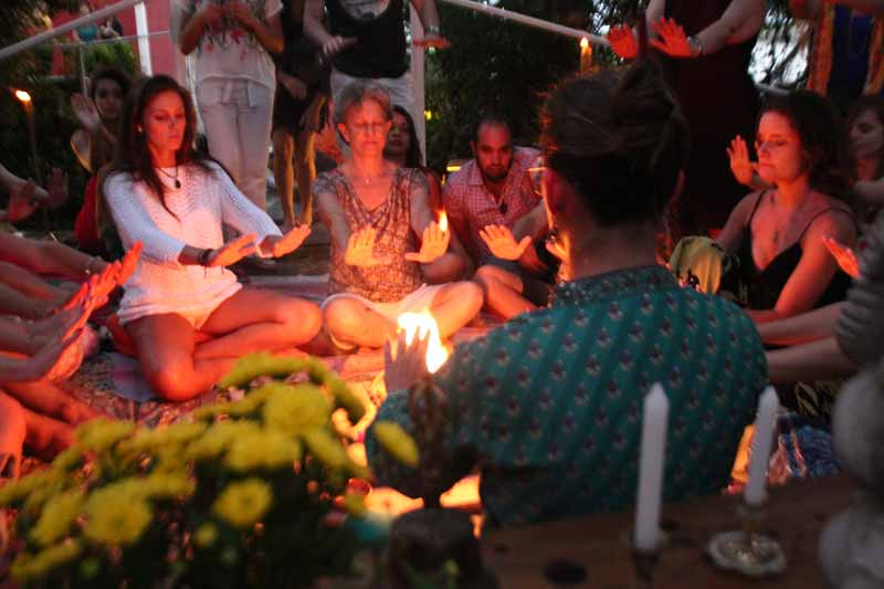 Agnihotra -  Ritual do fogo - 17/12/17.