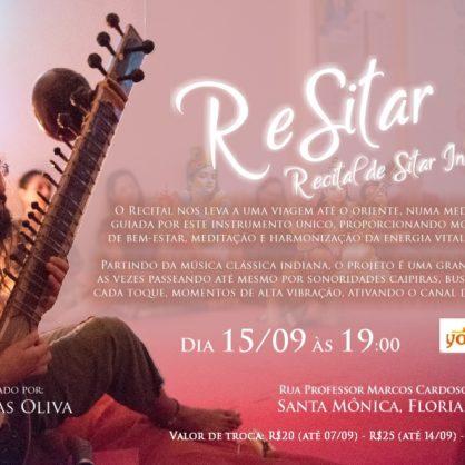 ReSitar - Recital de Sitar Indiana