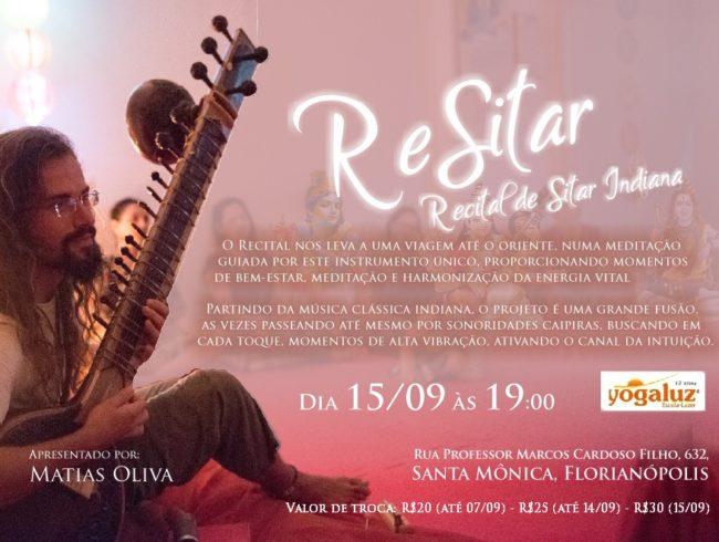 ReSitar – Recital de Sitar Indiana