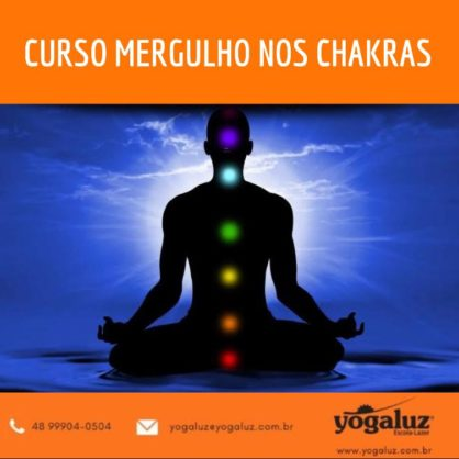 CURSO MERGULHO NO CHAKRAS