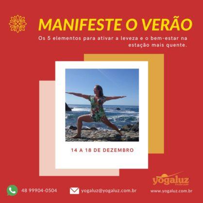 MINI-CURSO MANIFESTE O VERÃO